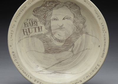 Baby Ruth plate