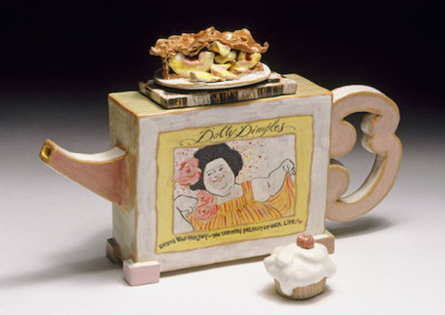 Dolly Dimples, teapot front