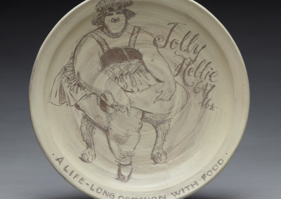 Jolly Nellie plate